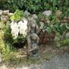 statue 3 singes en ciment